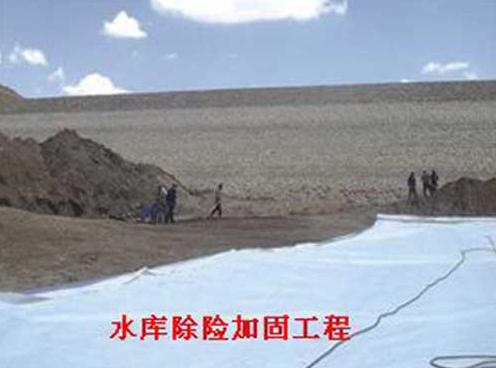 复合土工膜应用于新疆水库除险加固工程