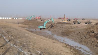 吉林白城湿地修复工程和土工修整工程