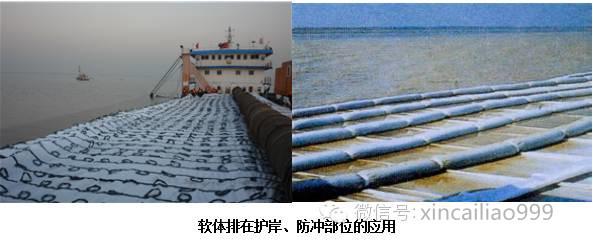 机制模袋应用于海岸线护