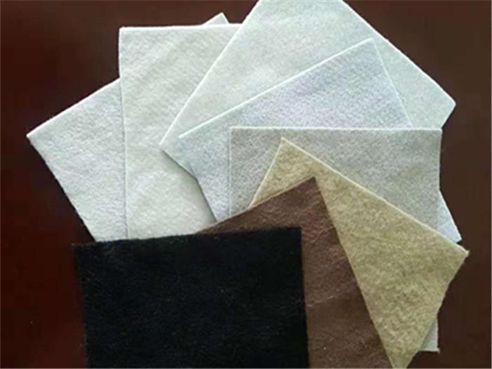 各种颜色的土工布